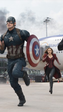 Captain America 3: civil war, Chris Evans, Anthony Mackie, Jeremy Renner, Marvel, best movies of 2016 (vertical)