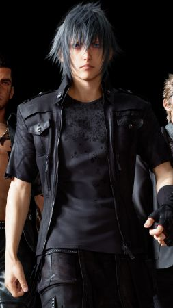 Final Fantasy 15, Noctis, Type-0, xbox one, PC, PS4 (vertical)