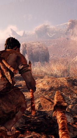 Far Cry Primal, mammoths, Best Game, PC, PS4, Xbox One
