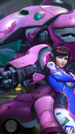 OVERWATCH, D.VA, Shooter, PlayStation 4, Xbox One, Windows, Best Games 2016