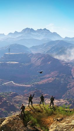 Tom Clancy's Ghost Recon Wildlands, Best games, game, shooter, PC, Xbox 360, PS3 (vertical)