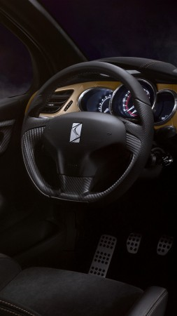 "DS 3 Performance ""BRM Chronographes"", Geneva Auto Show 2016, interior (vertical)"