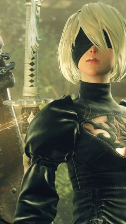 Nier: Automata, Best Games, sci-fi, PS4