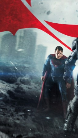 Batman v Superman: Dawn of Justice, Henry Cavill, Ben Affleck, Best Movies of 2016 (vertical)
