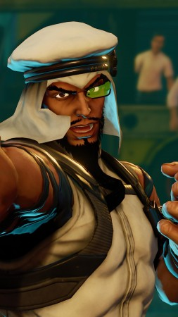 Street Fighter 5, RASHID, Best Games, fantasy, PC, PS4 (vertical)