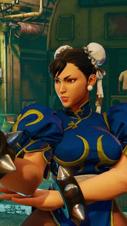 Street Fighter 5, CHUN-LI, Best Games, fantasy, PC, PS4 (vertical)