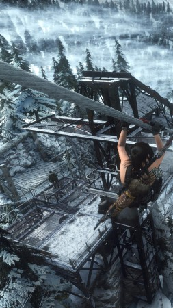 Rise of the Tomb Raider, Lara Croft, Best Games, PC (vertical)