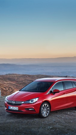Opel Astra Sports Tourer BiTurbo, Sports, red (vertical)