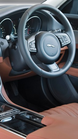 Jaguar XF Portfolio, sedan, interior (vertical)