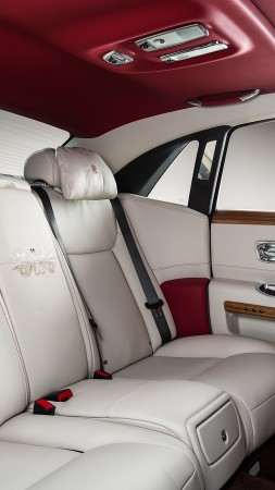 "Rolls-Royce Ghost ""Eternal Love"", luxury cars, interior (vertical)"