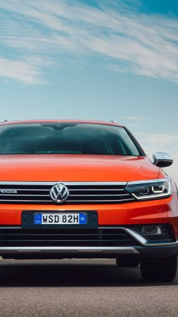 Volkswagen Passat Alltrack, sedan, orange (vertical)