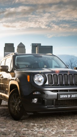 "Jeep Renegade ""Dawn of Justice, Batman v Superman: Dawn of Justice, SUV (vertical)"