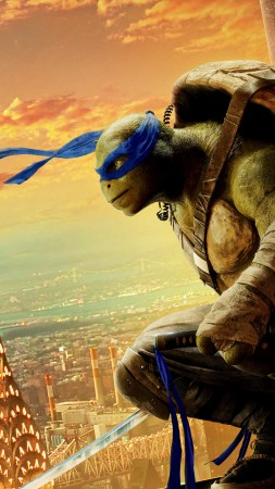 Teenage Mutant Ninja Turtles: Half Shell, Leonardo, Best Movies of 2016, Turtles (vertical)