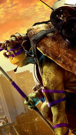 Teenage Mutant Ninja Turtles: Half Shell, Donatello, Best Movies of 2016, Turtles (vertical)