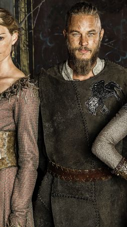 Vikings, 4 season, Travis Fimmel, Katheryn Winnick, Best TV Series of 2016 (vertical)