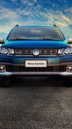 Volkswagen Saveiro Cross CD, pickup, blue (vertical)