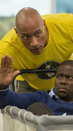 Central Intelligence, Dwayne Johnson, Kevin Hart, Best Movies of 2016 (vertical)
