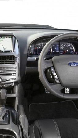 Ford Falcon XR8, limited edition, Sprint, interior (vertical)