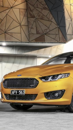 Ford Falcon XR8, limited edition, Sprint, gold (vertical)