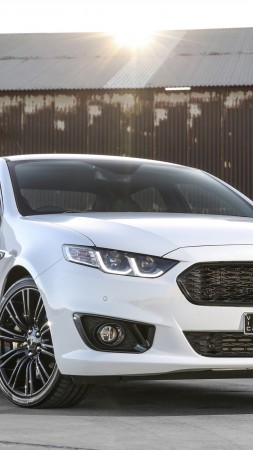 Ford Falcon XR6, limited edition, Sprint, white