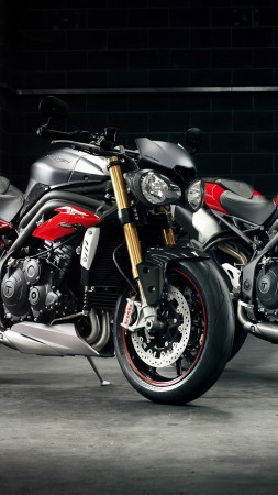 Triumph Speed Triple R, motorcycle (vertical)