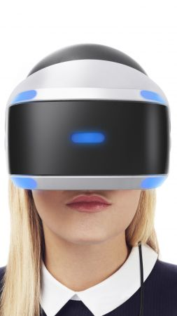PlayStation VR, Launch Bundle, GDC 2016, virtual reality (vertical)