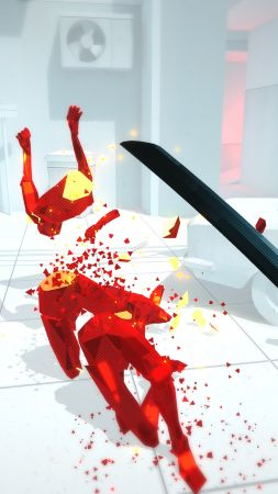 Superhot, VR, Oculus Touch, PS VR, PS4 (vertical)