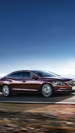 Buick LaCrosse, sedan, business (vertical)