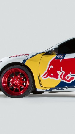 Honda Civic Coupe Rallycross, NYIAS 2016, rally, sport car, red bull (vertical)