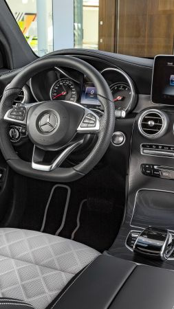 Mercedes-Benz Glc Amg Line, NYIAS 2016, interior (vertical)