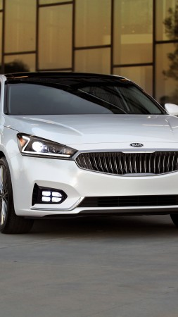Kia Cadenza, NYIAS 2016, sedan (vertical)