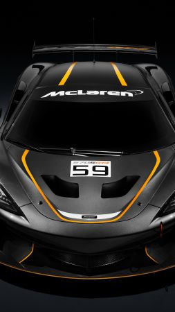 McLaren 570S GT4, sport car, NYIAS 2016 (vertical)