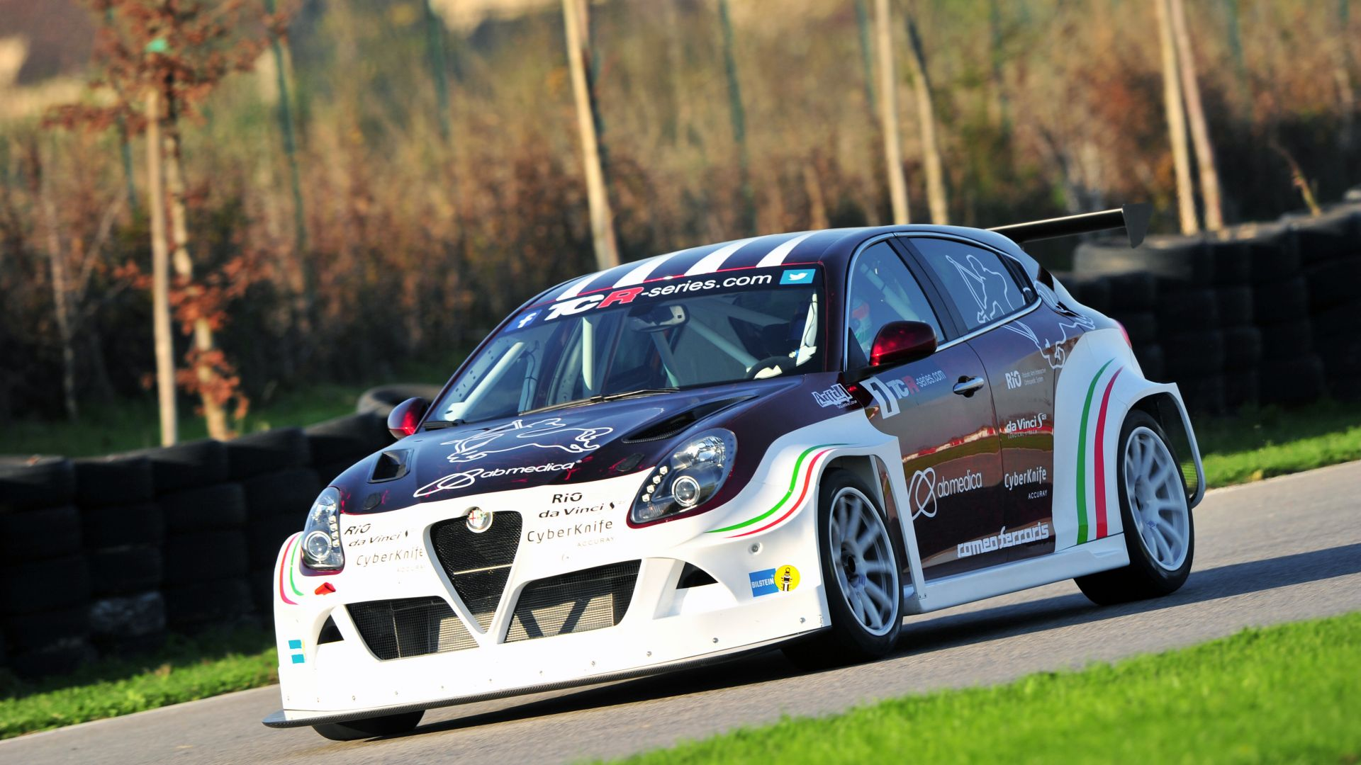 Romeo Ferraris, Alfa Romeo Giulietta TCR, sport cars, TCR International Series, test (horizontal)