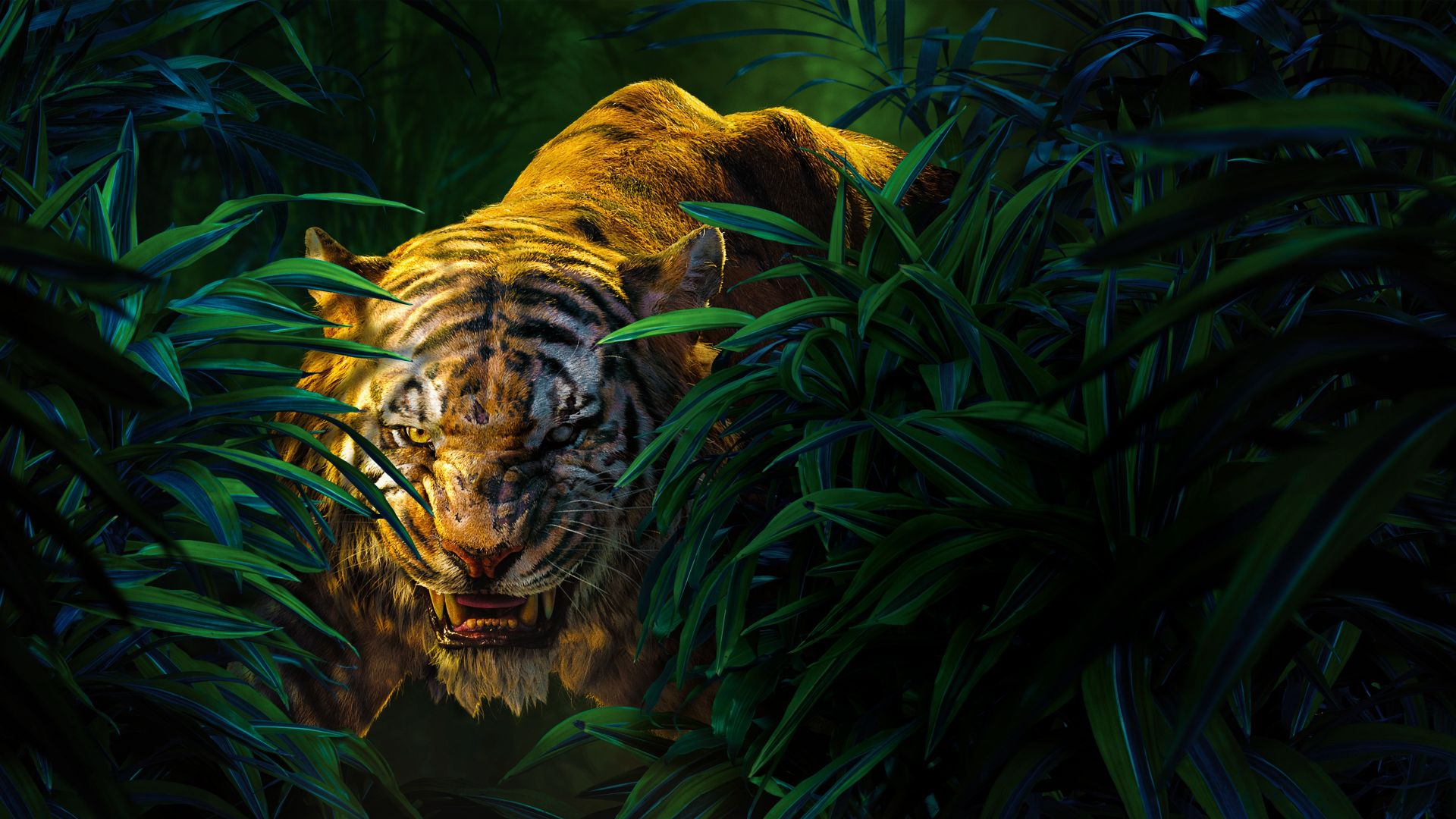 Wallpaper The Jungle Book Shere Khan Best Movies Of 2016 Movies