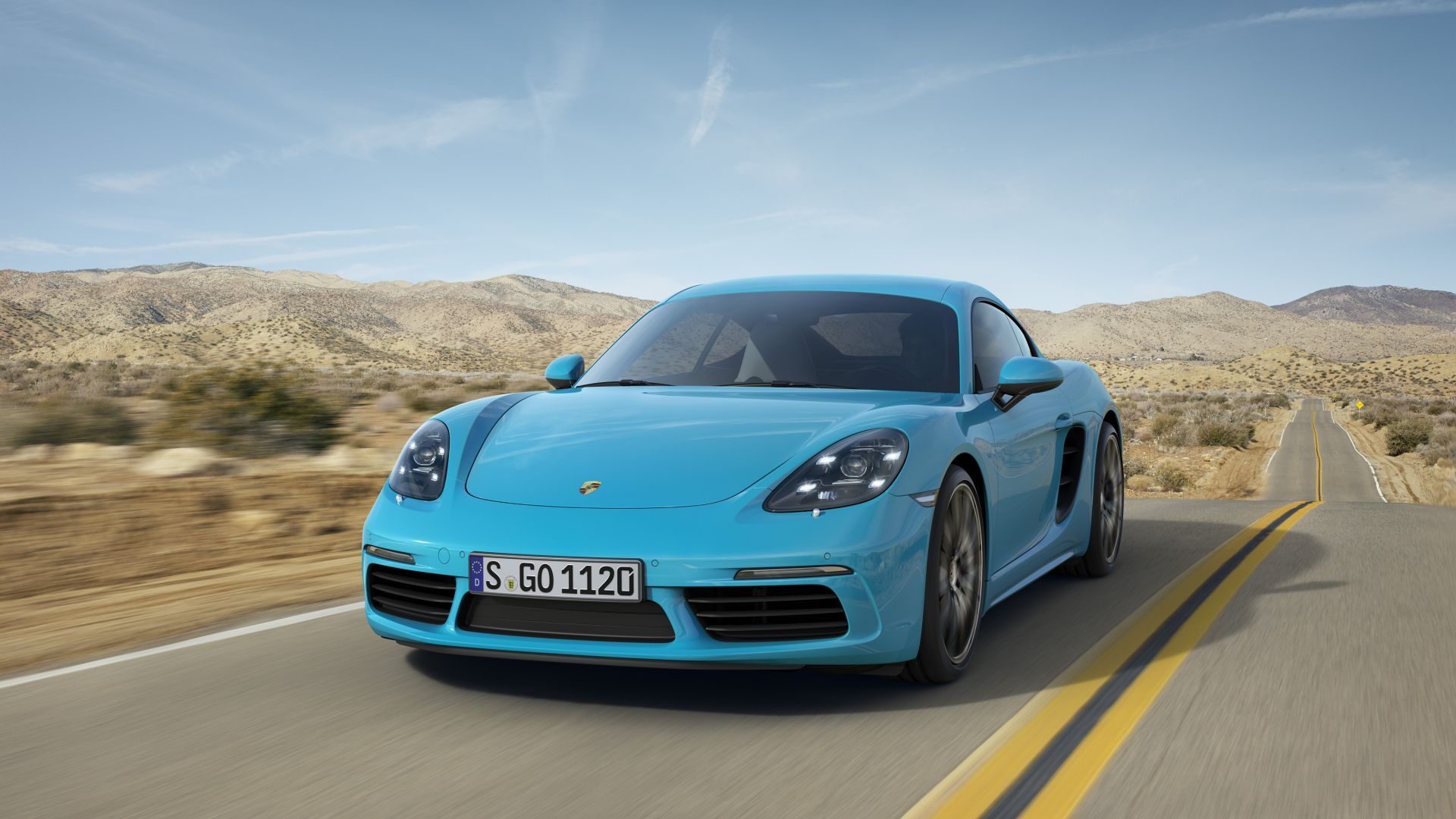 Porsche 718 Cayman S, Beijing Motor Show 2016, Auto China 2016, coupe, blue (horizontal)