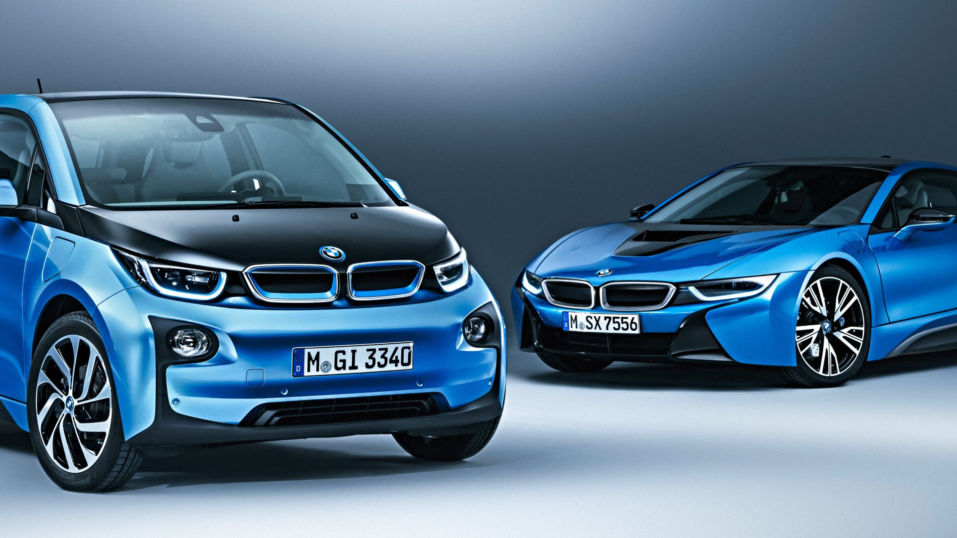 BMW i3 Protonic Blue, electric cars, electric, blue (horizontal)