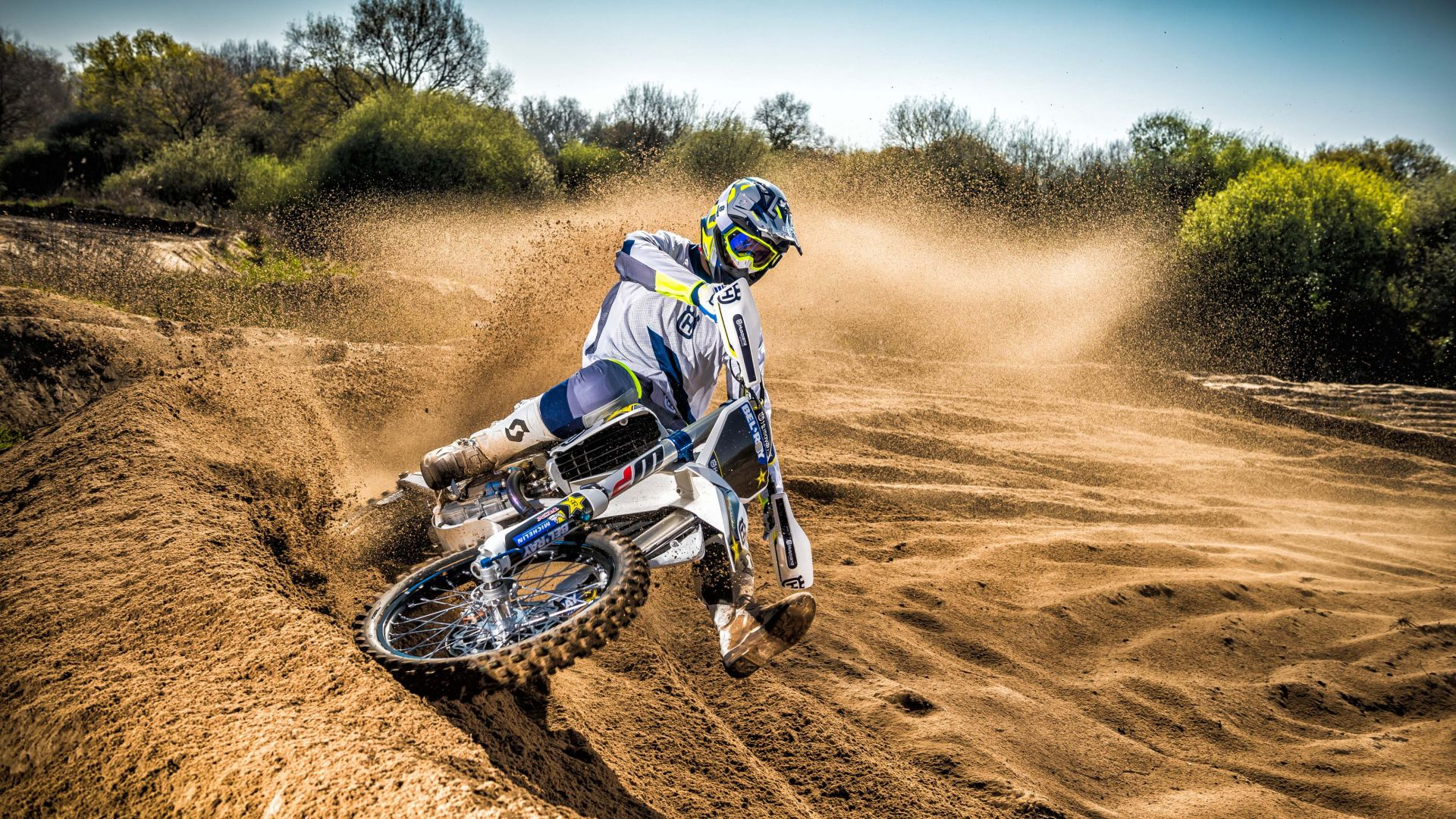Wallpaper Husqvarna TC250, Drift, Motocross Range Unveiled