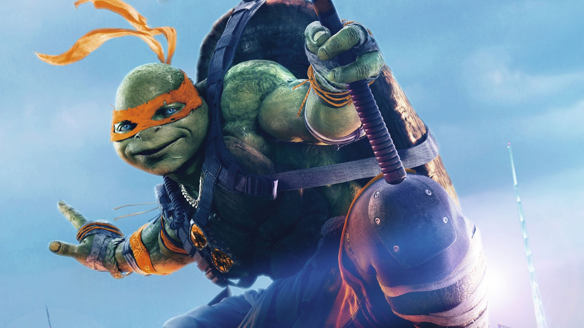 Teenage Mutant Ninja Turtles: Half Shell, michelangelo, Best Movies of 2016, Turtles (horizontal)