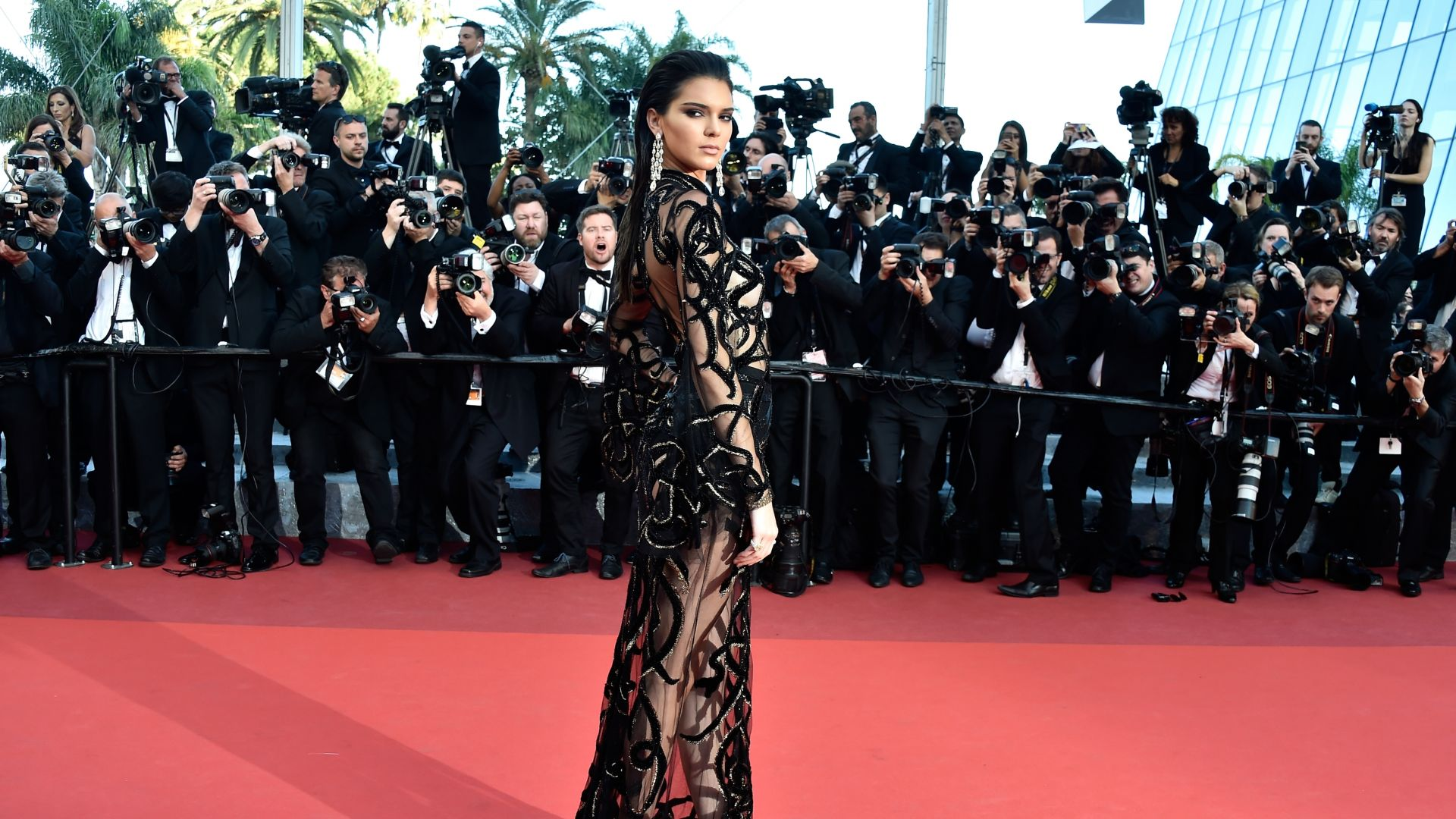 Kendall Jenner, Cannes Film Festival 2016, red carpet (horizontal)