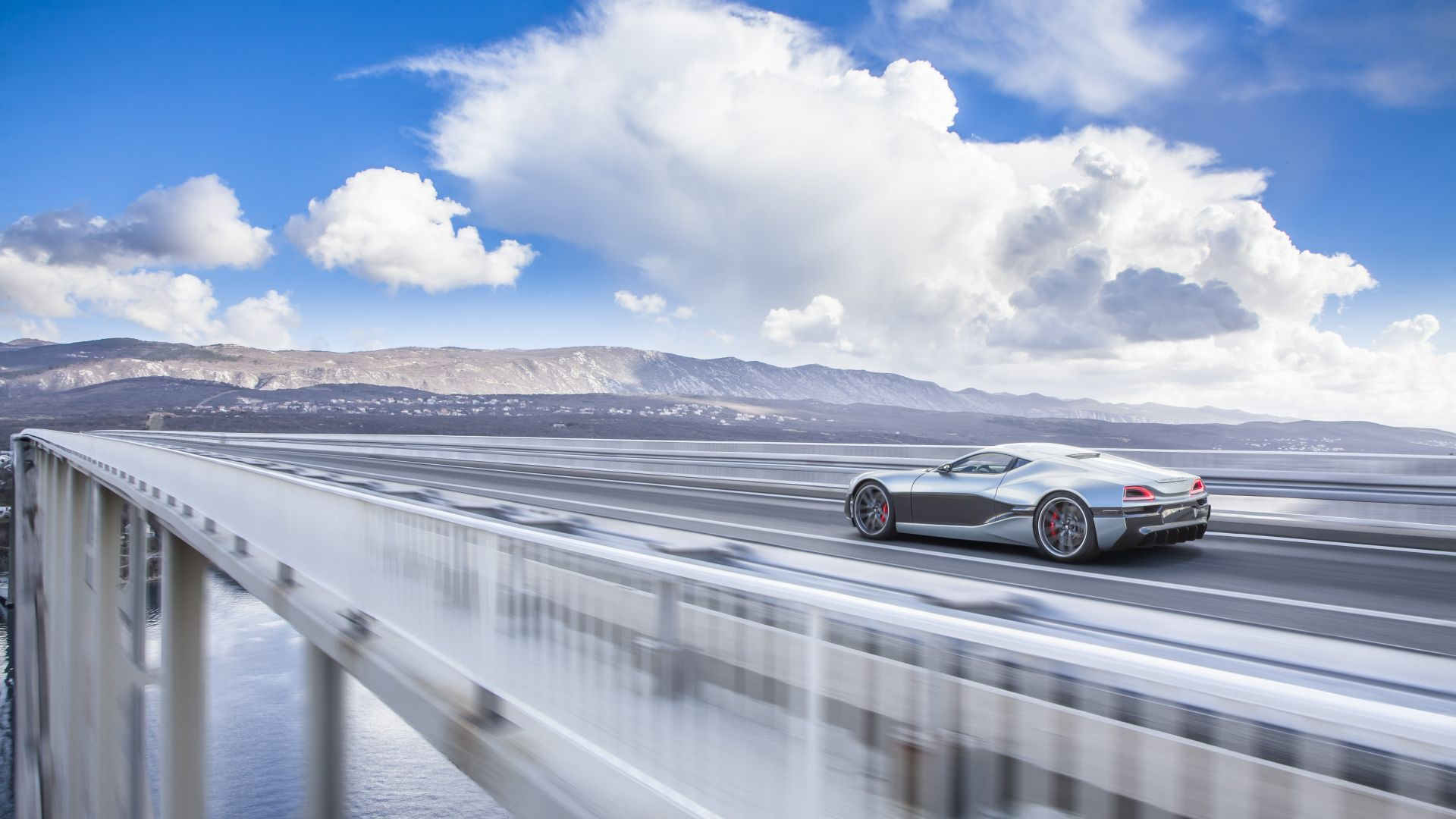 Rimac Concept 1, electric cars, electric, supercar (horizontal)