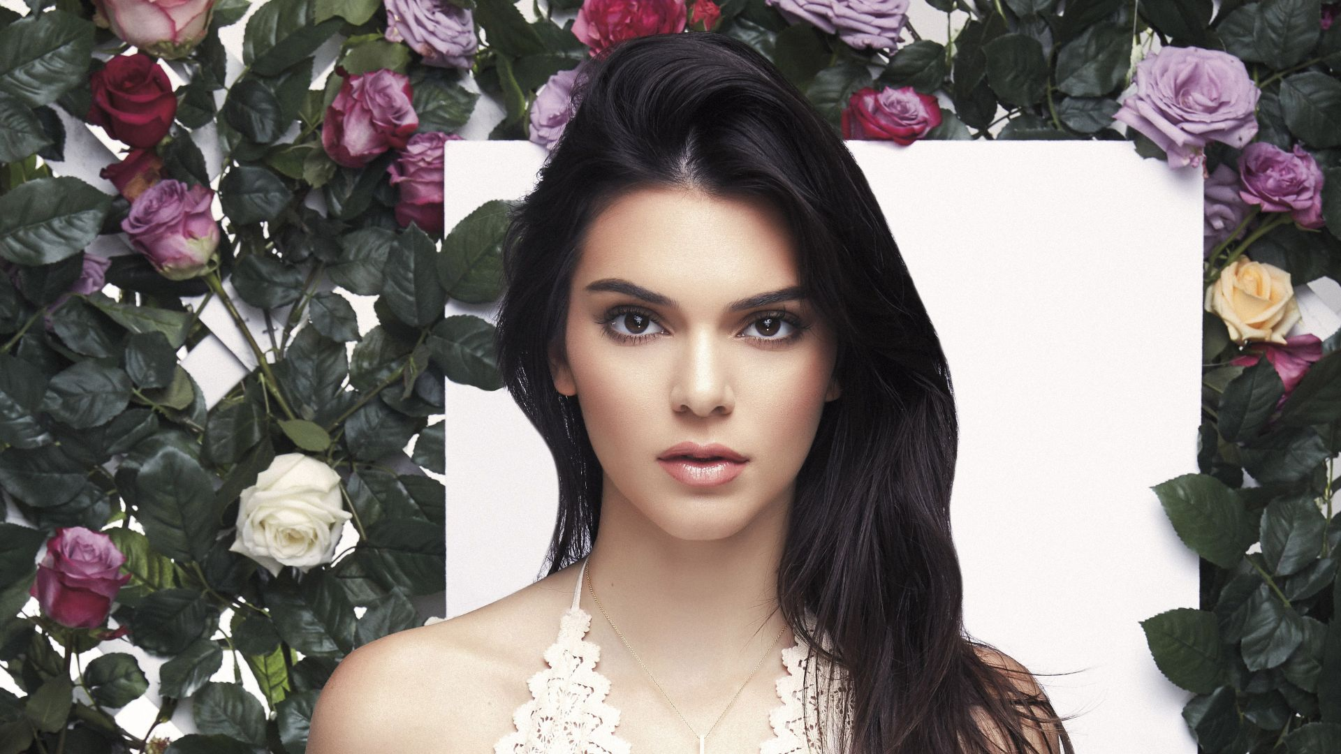 Kendall Jenner, look, eyes, Most popular celebs (horizontal)