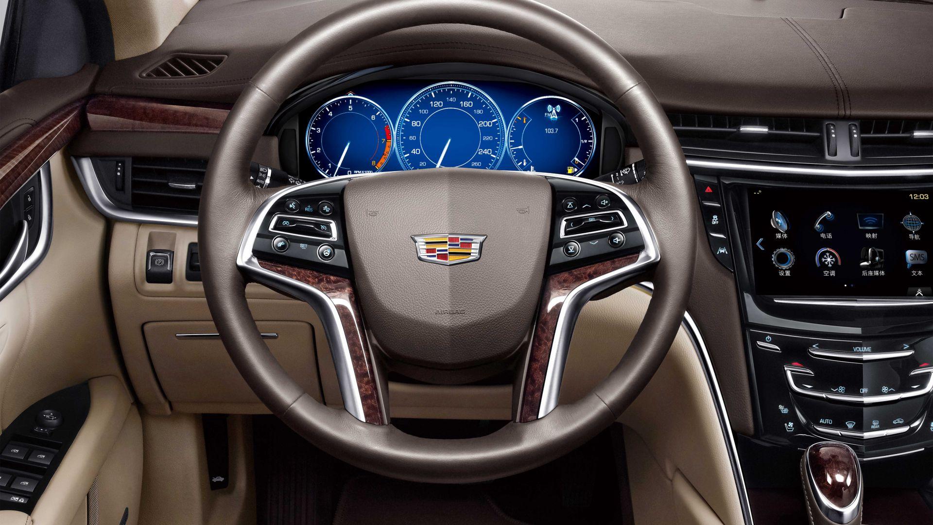 Wallpaper Cadillac XTS CN-spec, luxury cars, interior ...