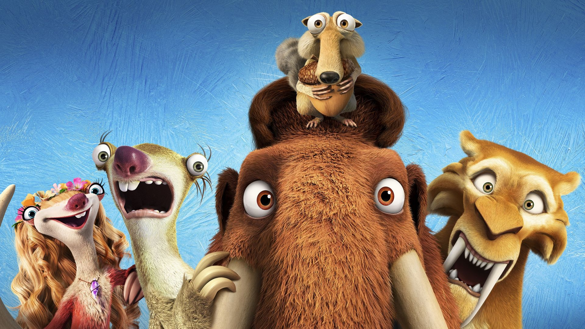 Ice Age 5: Collision Course, diego, manny, scrat, sid, mammoths, best animations of 2016 (horizontal)