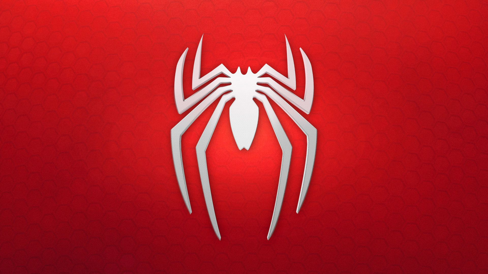 wallpaper spiderman logo background red white games 11596