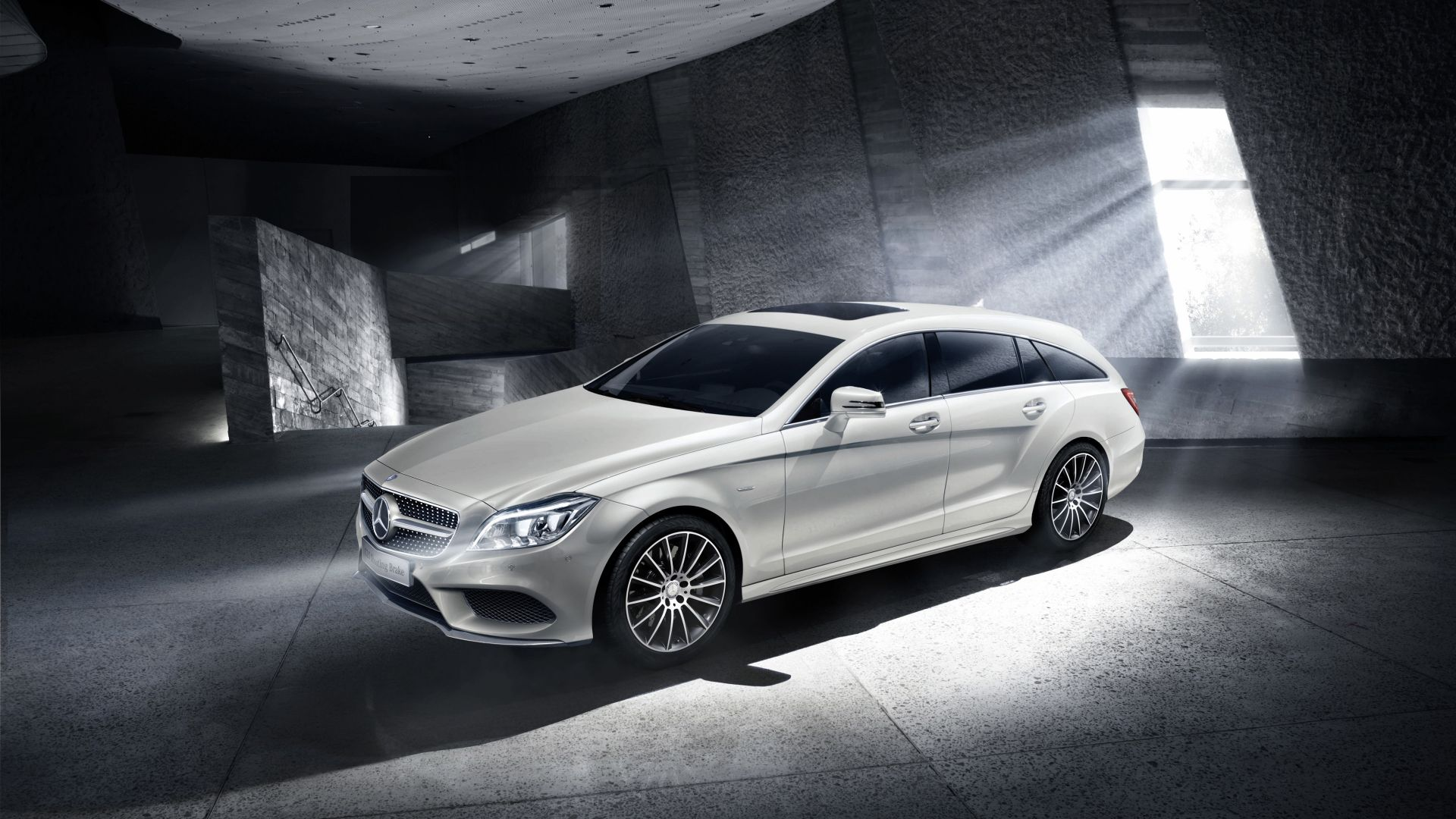 Mercedes-Benz, CLS Klasse, Shooting Brake, Final Edition, luxury cars, white (horizontal)