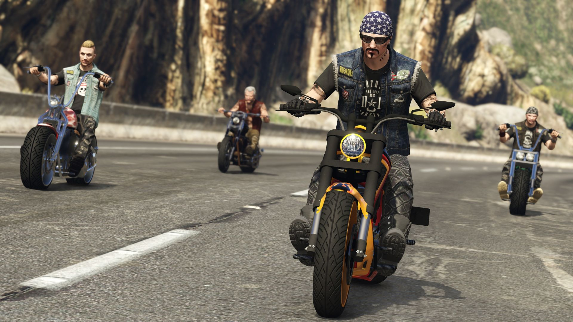 GTA Online: Bikers, gta, gta 5, best games (horizontal)
