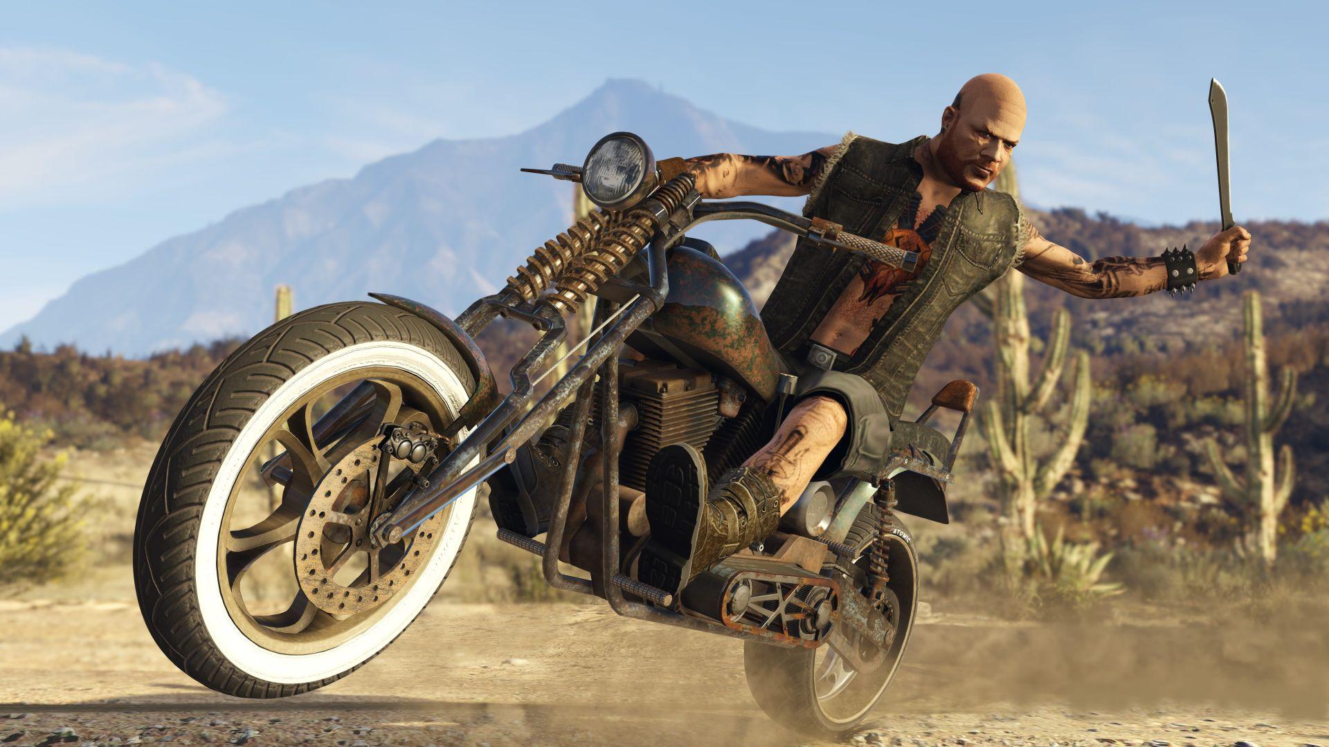 wallpaper gta online: bikers, gta, gta 5, best games, games #11821
