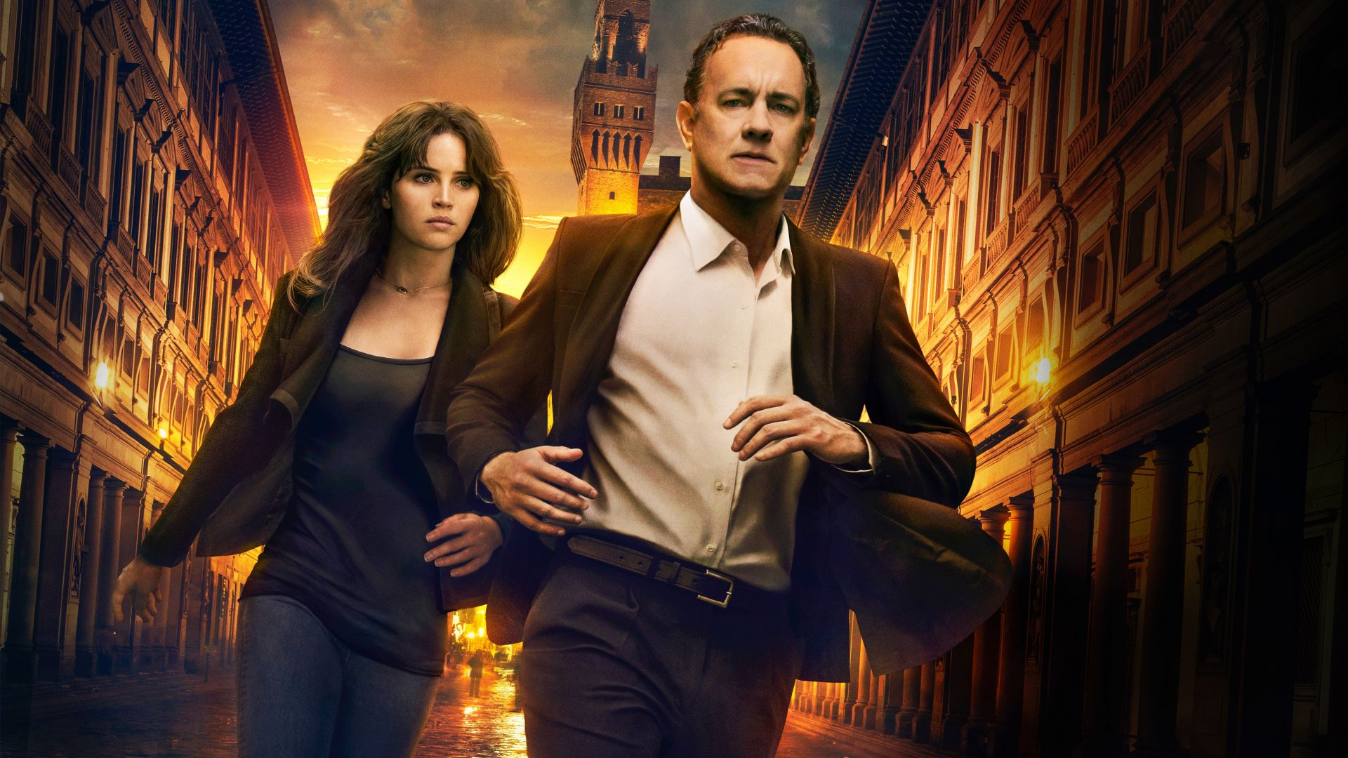 Inferno, Tom Hanks, Felicity Jones, best movies (horizontal)