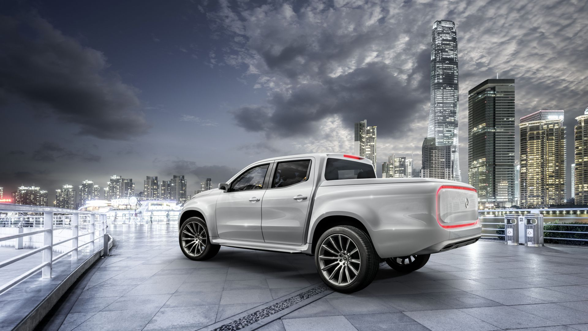 Mercedes-Benz Concept X-CLASS, pickup (horizontal)