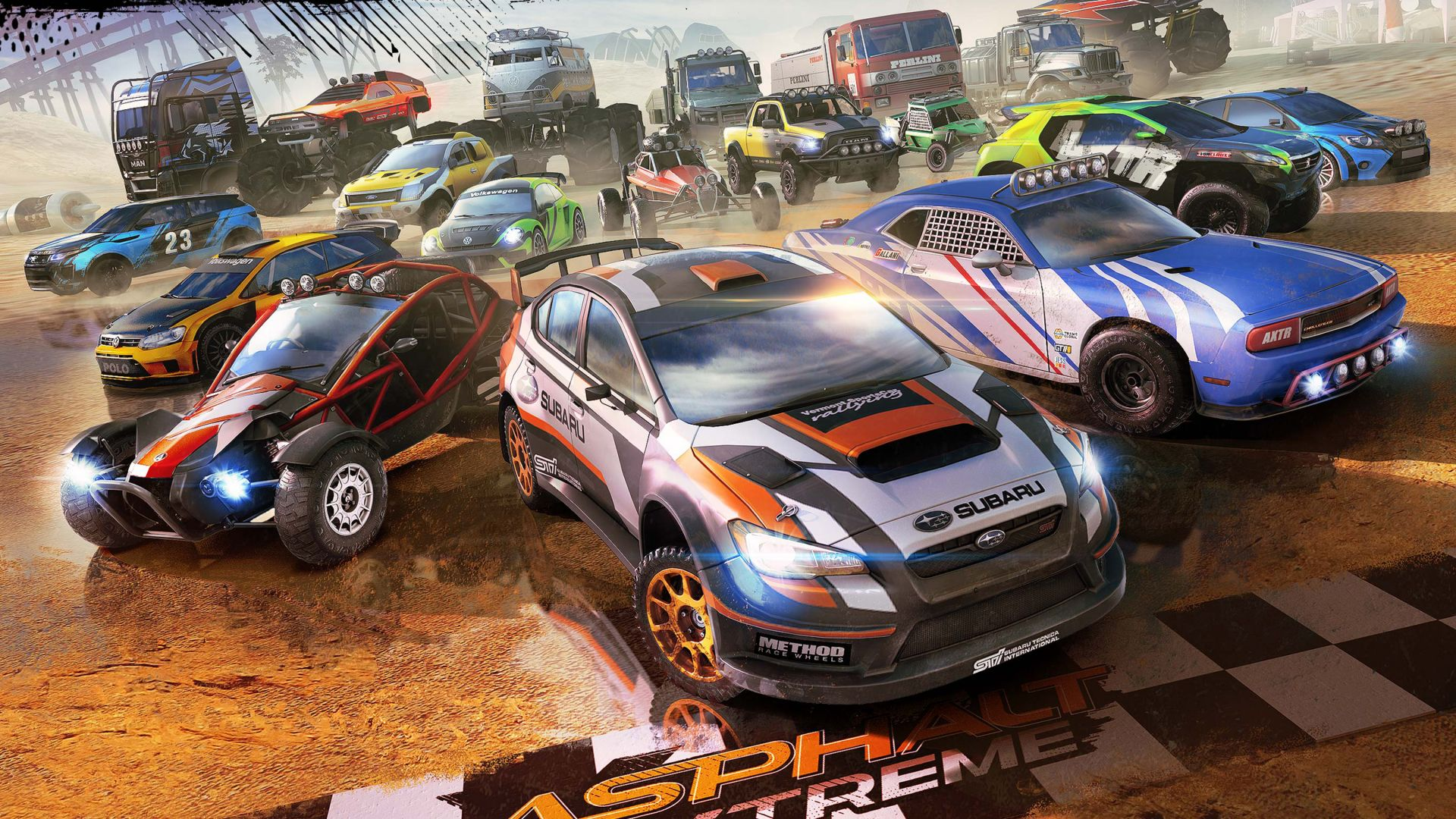 Asphalt Xtreme, racing, Android, iOS, PC (horizontal)